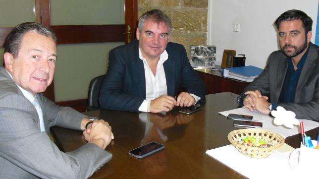 Miguel Cuesta, Manuel Vizcaíno y Fran González