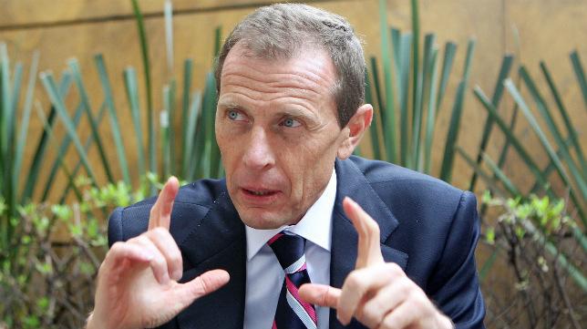 Emilio Butragueño, directivo y exfutbolista del Real Madrid.