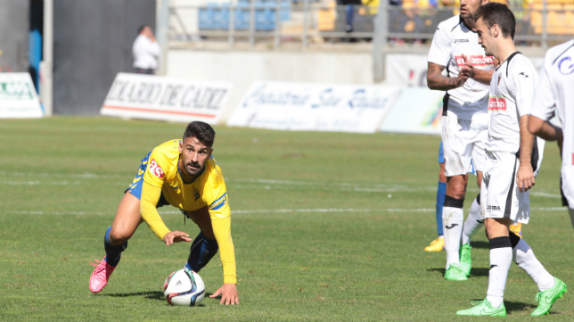 El Cádiz CF empató en el último minuto ante el San Roque.