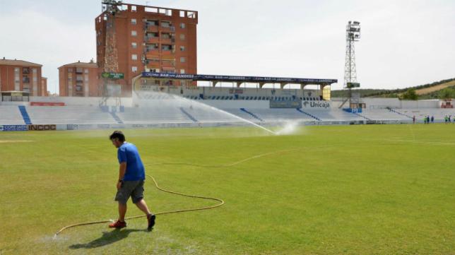 Imagen de Linarejos, el estadio del Linares