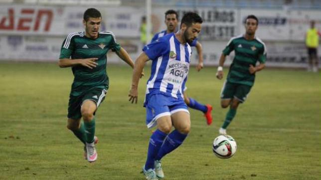 Gonzalo Poley en un partido con La Hoya Lorca