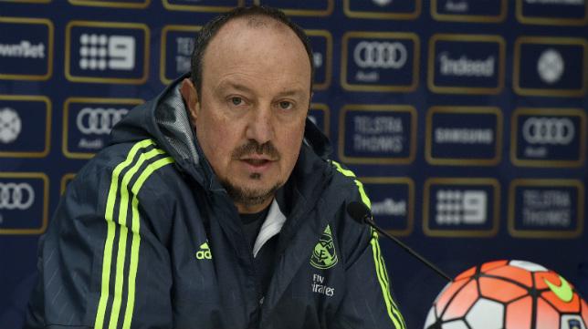 Rafa Benítez, entrenador del Real Madrid.