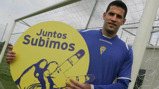 Kiko Casilla fue una pieza clave para el último ascenso que ha conseguido el Cádiz a Segunda A.
