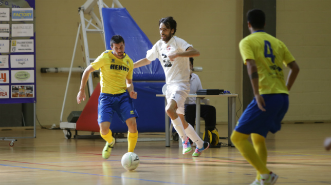 El Cádiz CF Virgili volvió a vencer