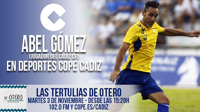 Abel Gómez estará mañana en el Restaurante De Otero