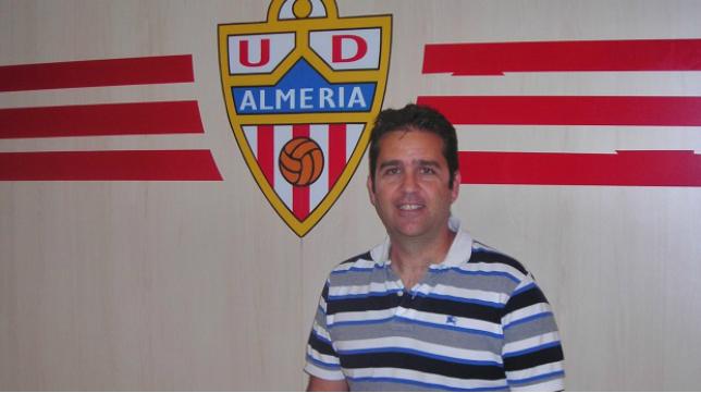 El ex del Cádiz CF Alberto Benito, actual director deportivo del Almería