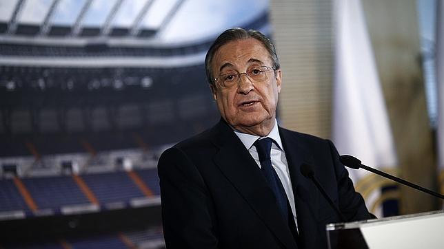 El Real Madrid, con su presidente Florentino Pérez al frente, agotará todas las vías