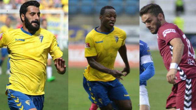 Güiza, Cuero y Lolo Plá, acumulan solo tres goles con el Cádiz CF