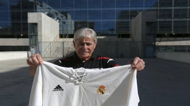Manolín Bueno, exjugador de Cádiz CF y Real Madrid, entre otros.