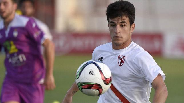 El Sevilla Atlético juega hoy en el Nuevo Las Gaunas ante la UD Logroñés