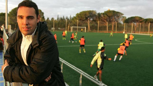 Quique González, coordinador de las categorías inferiores del Cádiz CF.