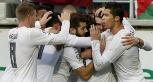El Real Madrid, con un gol de Cristiano Ronaldo, llega a Carranza tras vencer en Eibar.