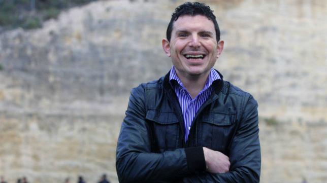 David Buitrago, en su etapa como director deportivo del Cartagena.