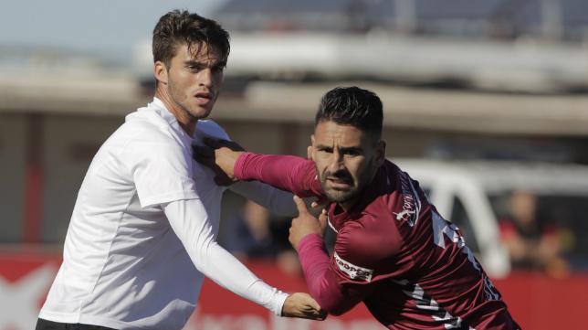 Imagen del último enfrentamiento entre el Cádiz CF y el Sevilla Atlético.