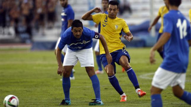 El Cádiz CF disputó el Trofeo de la Sal este verano en Bahía Sur ante San Fernando CD y Xerez DFC