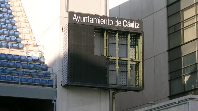Imagen actual de un marcador de Carranza.