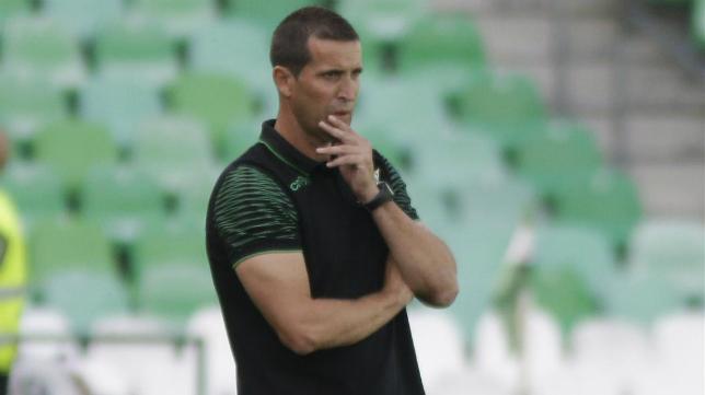 Juan Merino, entrenador del Betis B