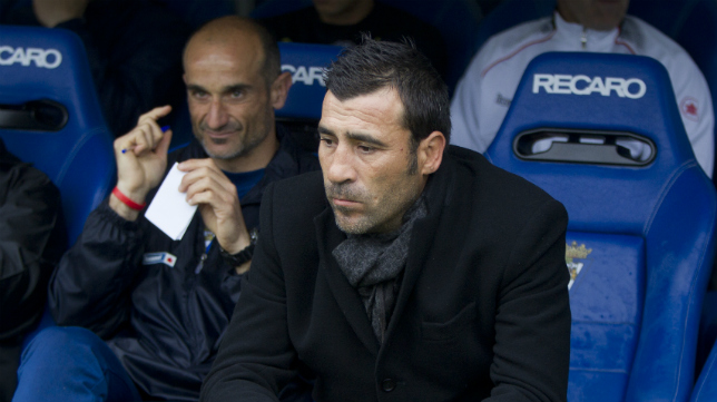 Raúl Agné, actual entrenador del Zaragoza