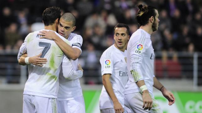 El Real Madrid llegará este miércoles a Carranza tras haber ganado al Eibar en Ipurúa.