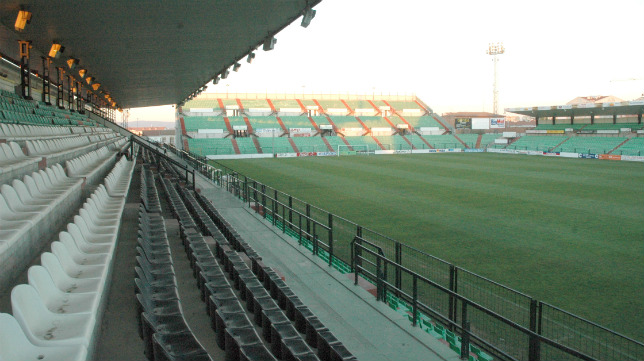 El estadio Romano de Mérida.