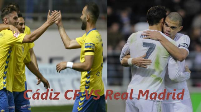 Cádiz CF y Real Madrid se ven las caras en Copa del Rey
