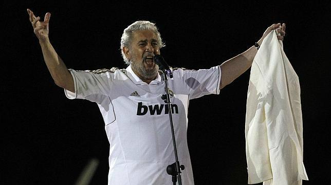 Plácido Domingo es un reconocido madridista