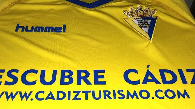 La camiseta del Cádiz CF mañana ante el Real Madrid