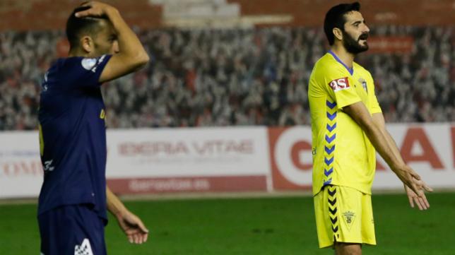 El Cádiz CF volvió a perder en el último partido del año.