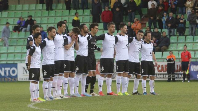 Imágen del Mérida en su estadio