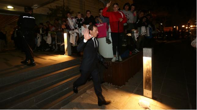 Emilio Butragueño estuvo presente el pasado miércoles en Cádiz