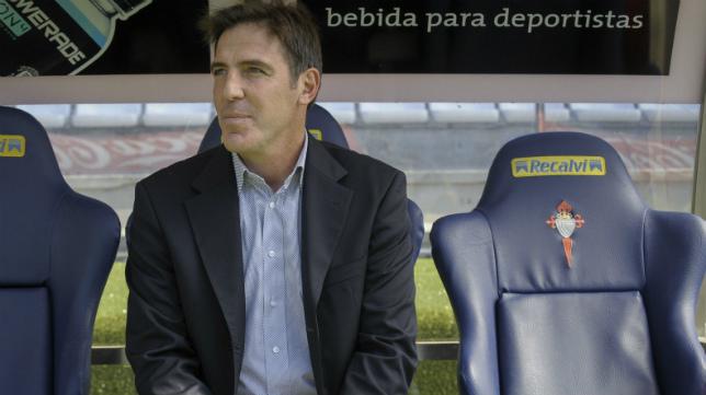 Berizzo, entrenador del Celta y exjugador del Cádiz CF.
