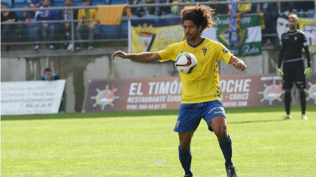 Aridane en el duelo ante el Jaén