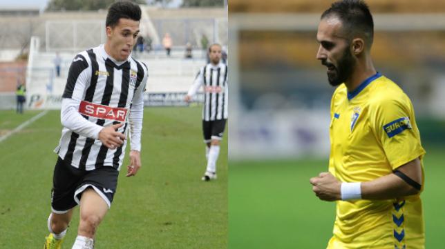 Mario y Andrés, hermanos y rivales en el Cartagena - Cádiz