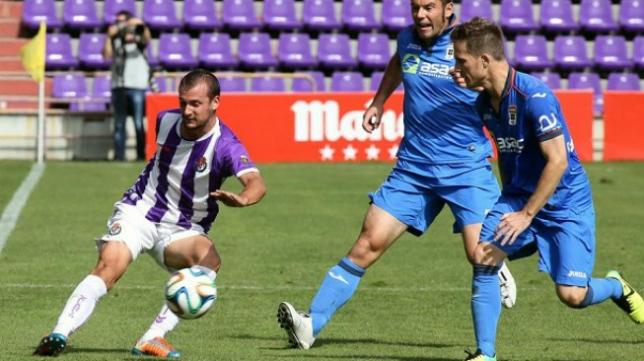 Xavi Carmona, durante su etapa en el Valladolid B. / FOTO: UD Almería