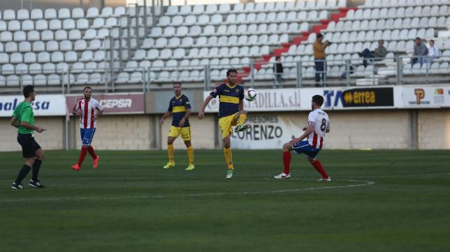 David Sánchez ante el Algeciras