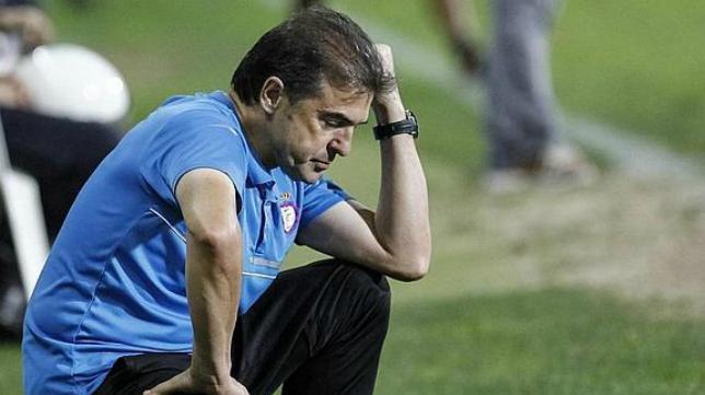 Gonzalo Arconada, técnico del Jaén
