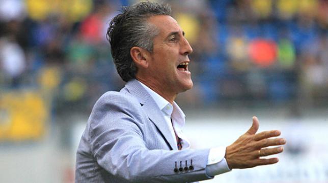 Alejandro Ceballos, entrenador del Recreativo