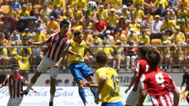 Ortiz Arias fue el encargado de pitar el Cádiz CF-Bilbao Athletic.
