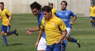 Manu Vallejo, en un partido ante el Xerez.