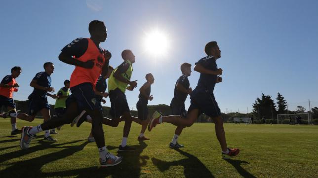 El Cádiz CF regresa hoy a los entrenamientos