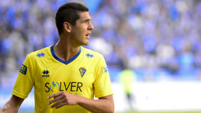Jon Ander Garrido podría estar viviendo sus últimos días en el Cádiz CF.