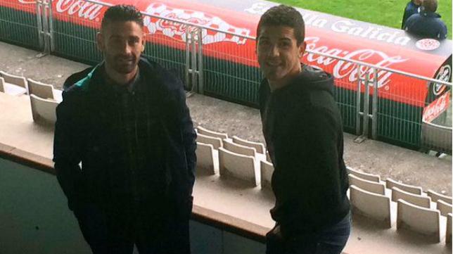 Garrido, compañero de Kike Márquez también en Ferrol, se encuentra en la misma situación que el sanluqueño.
