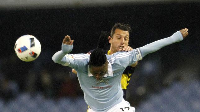 Mantecón ha jugado los dos partidos de Copa del Rey ante el Celta.