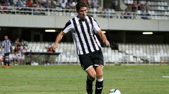 Montero, jugador del Cartagena (FOTO: SPORTCARTAGENA)