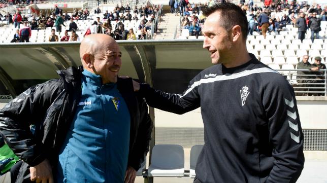 Claudio y Jose Manuel Aira en Murcia