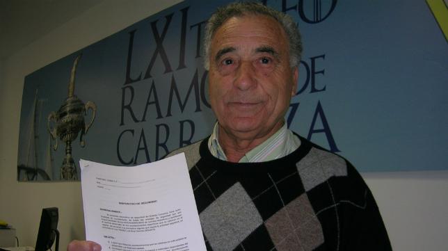 Eladio Rego, director de seguridad del Cádiz CF (Foto: CCF)