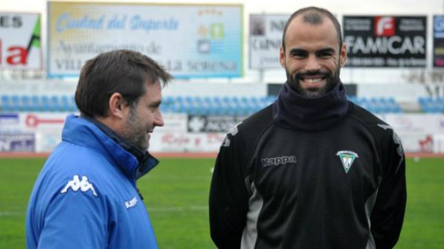 Espín, defensa del Villanovense, no jugará este domingo ante el Cádiz CF- / FOTO: HOY
