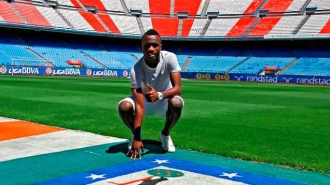 Isaac Nana, jugador formado en la cantera del Atlético de Madrid