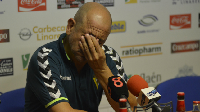 Claudio, en una rueda de prensa.