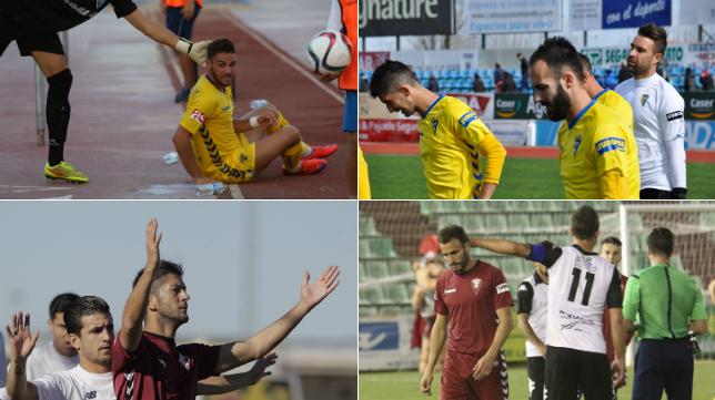 El Cádiz se ha dejado ocho puntos en sus salidas a Marbella, Villanueva, Sevilla y Mérida.